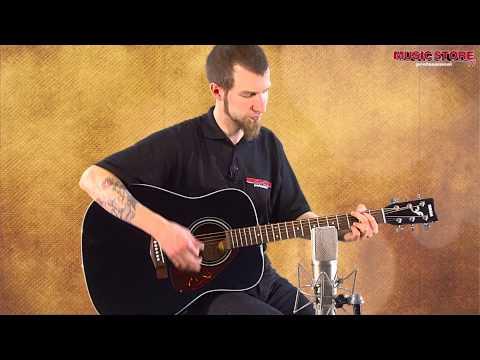 YAMAHA F370 Western Gitarre Demonstration
