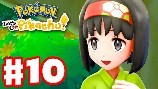 Pokemon Let's Go Pikachu and Eevee - Gameplay Walkthrough Part 10 - Gym Leader Erika