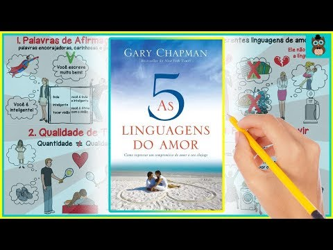 AS 5 LINGUAGENS DO AMOR | GARY CHAPMAN | RESUMO ANIMADO
