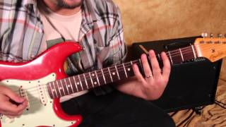 Jimi Hendrix -  Foxy Lady -  Guitar Lesson  - Tutorial -  How to Play on Guitar  - Strat