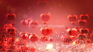 love background | heart background video | romantic background effect | heart background animation