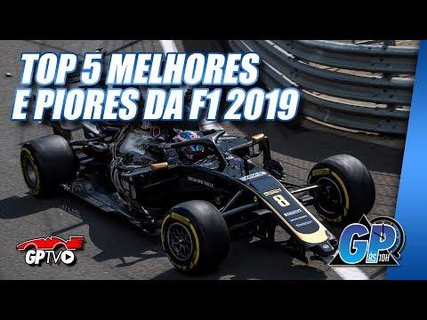 Quem são os 5 melhores e os 5 piores da F1 2019 até agora   GP às 10