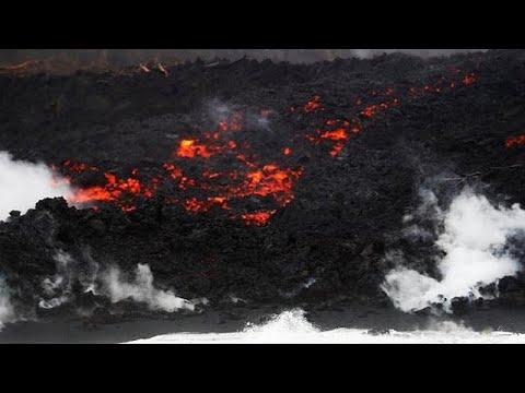 Χαβάη: Συνεχίζονται οι ηφαιστειακές εκρήξεις