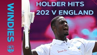 Jason Holder Hits RECORD 202 Against England | Windies Finest