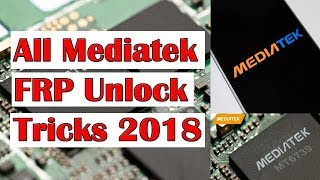 All Latest Mediatek Cpu Frp Unlock Tool And latest Best Easy Trick 2018