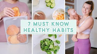 7 Daily Healthy Habits as a New Mom + 5 Minute Oral Care Routine