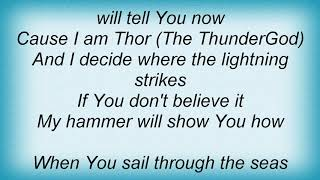 Sonata Arctica - Thor (The Thundergod) Lyrics