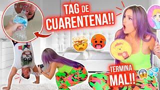 TAG DE CONFESIONES versión CUARENTENA!!😷💕 ÉPICO FINAL!!😂🤸🏻💦  | Katie Angel
