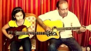 Jimmy Jimmy Aaja Aaja Guitar Cover - mnm8