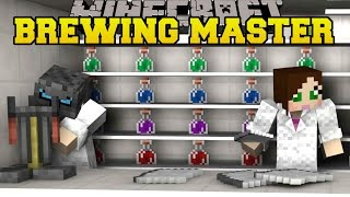 Minecraft: THE BREWING MASTERS! - PUMPKIN PARTY - Mini-Game