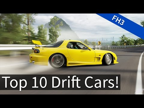 Forza Horizon 3: Top 10 Drift Cars