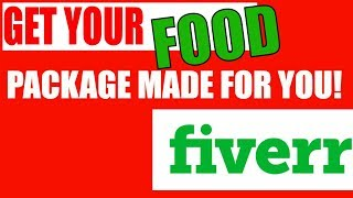 How To Create YOUR Food Packaging Part 2 Fiverr Service Do It For You