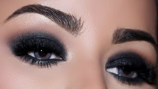 How To: STEP-BY-STEP PERFECT BLACK SMOKEY EYE TUTORIAL FOR BEGINNERS | Tips & Tricks