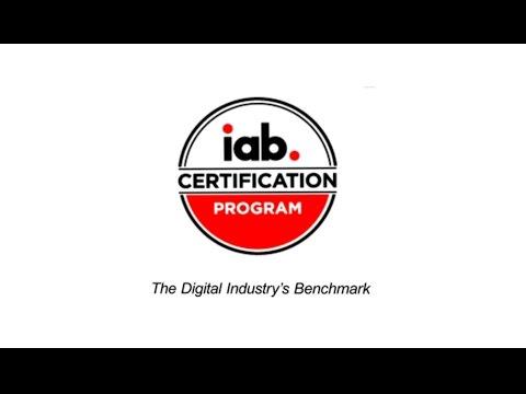 Learn About IAB Digital Certification Programs - YouTube