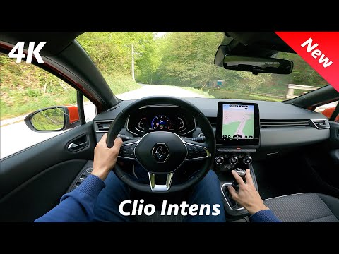 Renault Clio 5 Intens 2021 - POV Test drive in 4K | 1.0 TCe - 100 HP LPG