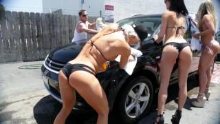 ANNUAL BIKINI CAR WASH 2015