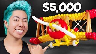 Best Balloon Sculpture Wins $5,000 Challenge! | ZHC Crafts