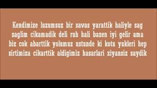 Murat Dalkilic- Luzumsuz Savas Lyrics