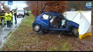 preview picture of video 'Man (28) komt om het leven bij ongeluk in Veldhoven'