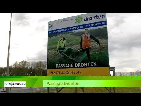 VIDEO | Een rustige wandeling op de zondagmiddag over de N307 Passage Dronten
