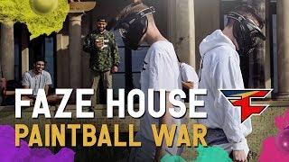 FaZe House: Backyard Paintball War