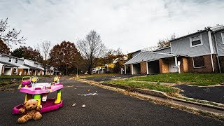 OVER 200 HOMES EVACUATED - Exploring ABANDONED Pennsylvania Neighborhood