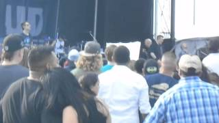 Evans Blue - Crawl Inside live at Oyster Bake in San Antonio, Texas