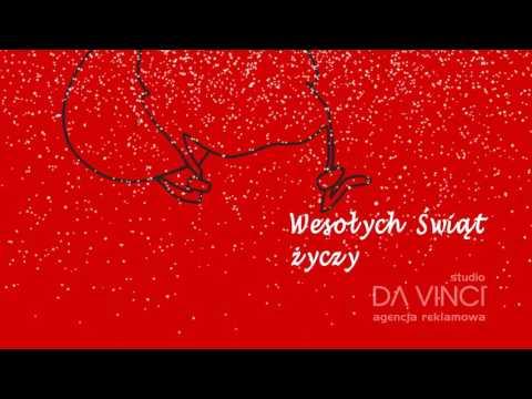 Da Vinci - Kartka Świąteczna - animacja