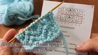 12. Вязание для начинающих. Как читать схемы