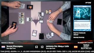 Pro Tour Fate Reforged Semifinals: Jelger Wiegersma vs. Antonio Del Moral Leon