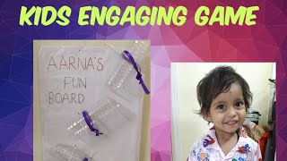 DIY | How to Engage a Toddler at Home | kid's funtime