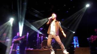 Anthony Callea - Horses (Daryl Braithwaite cover) Live on the Backbone Tour