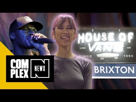 Hangin With Sneakbo and Hitting the House of Vans | London Lowdown