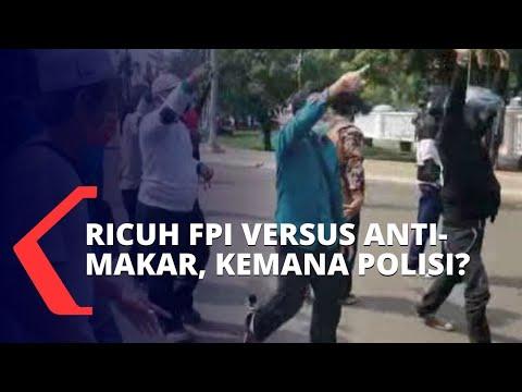fpi bubarkan aliansi anti-makar polisi kemana