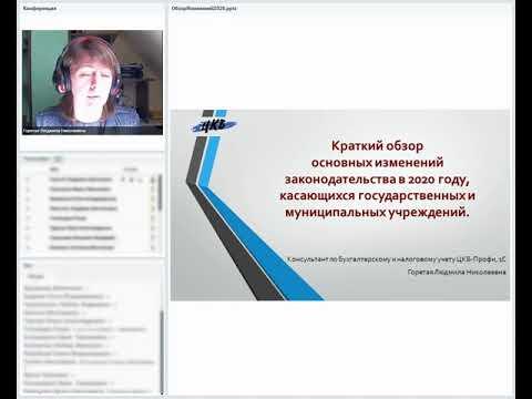 Вебинар Горетой Людмилы от 14.04.2020 года