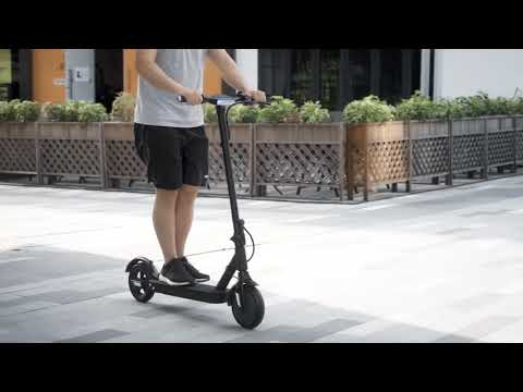 i9 Plus Electric Scooter for Adult Teenage Speed 18.6mph Range 15.5 Miles Motor 350W Solid Tire with APP and Bag