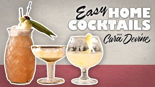 Fun & Easy Cocktail Recipes For Lockdown