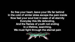 DragonForce - The Flame Of Youth | Lyrics on screen | HD