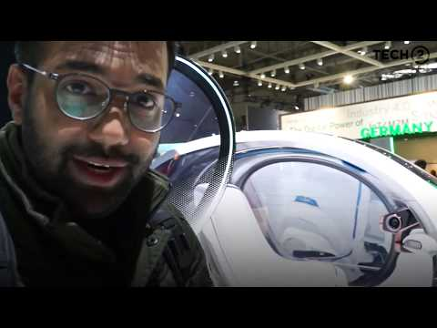 Smart Concept CAR at MWC 2018