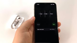 How to set custom timer to stop Apple Music - stop music after custom amount of time on iPhone