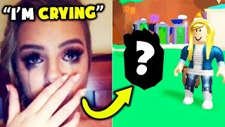 She CRIED When I Traded RAREST Pet In Bubble Gum Simulator (Roblox)