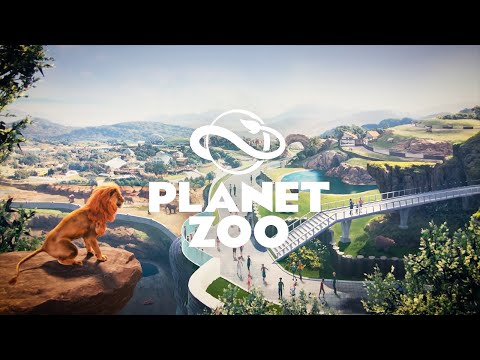 Planet Zoo《動物園之星》動物園模擬遊戲,打造一個野生動物世界