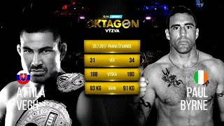 Oktagon 3 - Attila VEGH vs Paul BYRNE