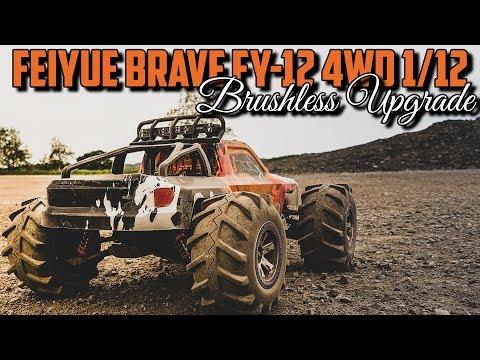 Feiyue Brave FY-12 4WD 1/12 - Brushless Upgrade