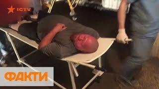 Столкновения на Барабашова в Харькове: 8 пострадавших, один человек в реанимации