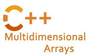 Multidimensional Arrays in C++ (2D arrays)