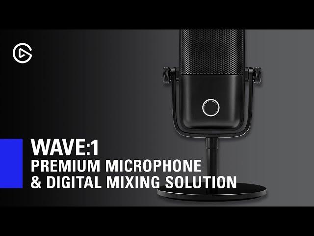 Elgato Wave:1 Premium Mikrofon Mikrofon Komplett.no