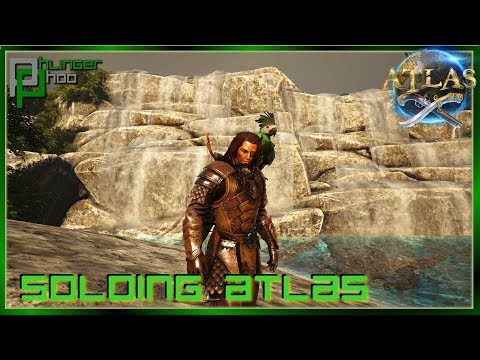 NEW ISLAND - KOI PONDS And PARROT TAMING! Soloing Atlas 20