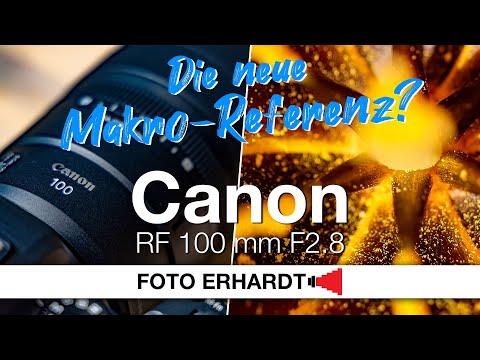 Vorgestellt: Canon RF 100 mm F2.8 L Macro IS USM