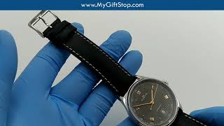 Fortis 902 20 21 L 01 19Fortis AM Black Dial Men's Watch Video
